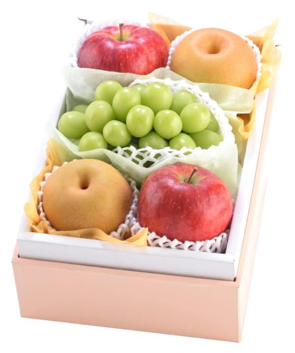 シャインマスカット&幸水梨&りんご